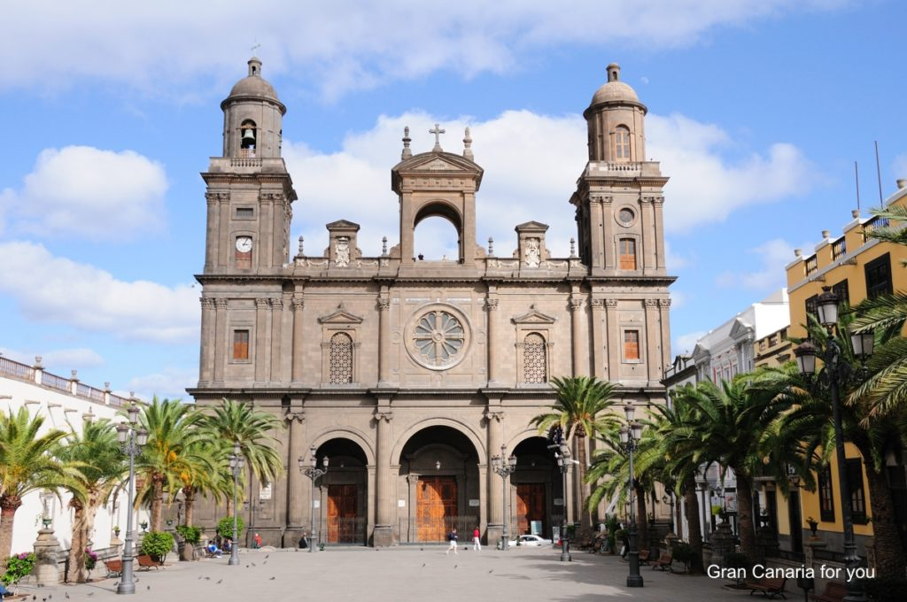 Las Palmas - katedrála sv. Anny