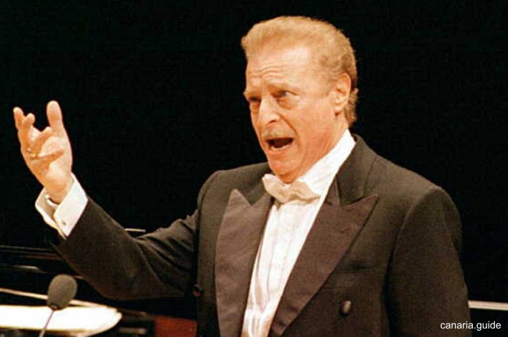 Alfredo Kraus na jednom z posledných verejných vystúpení.