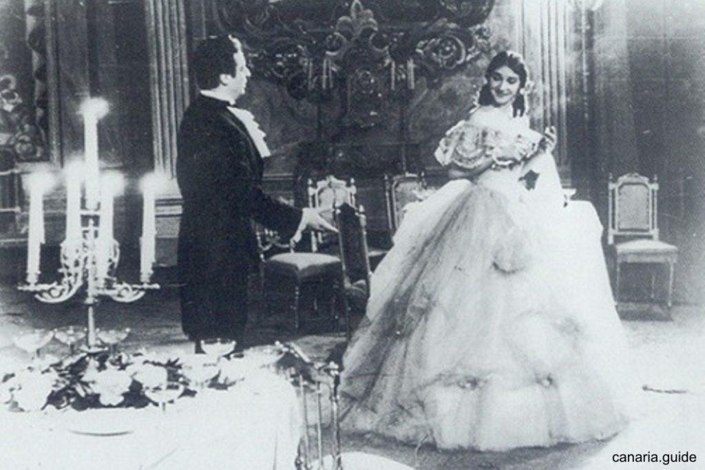 Alfredo Krasu s Mariou Callas v La Traviata (Lisabon, 1958)