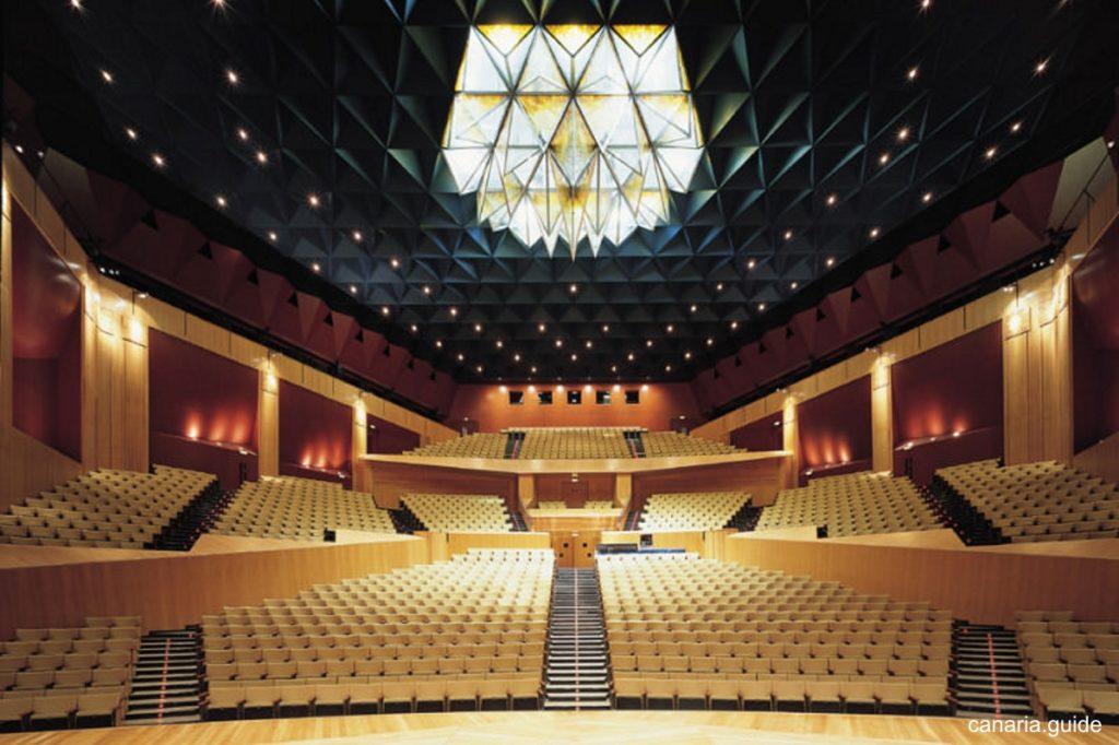 Auditorio Alfredo Kraus de Las Palmas de Gran Canaria - interiér