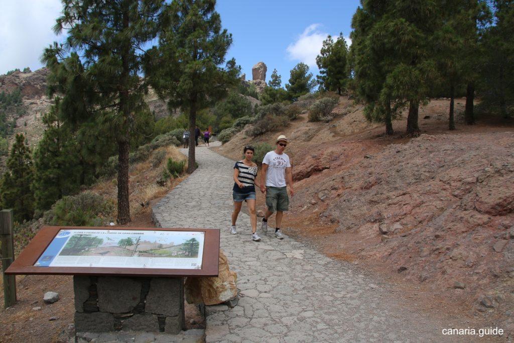Turistický chodník je prispôsobený aj pre menej zdatných turistov.