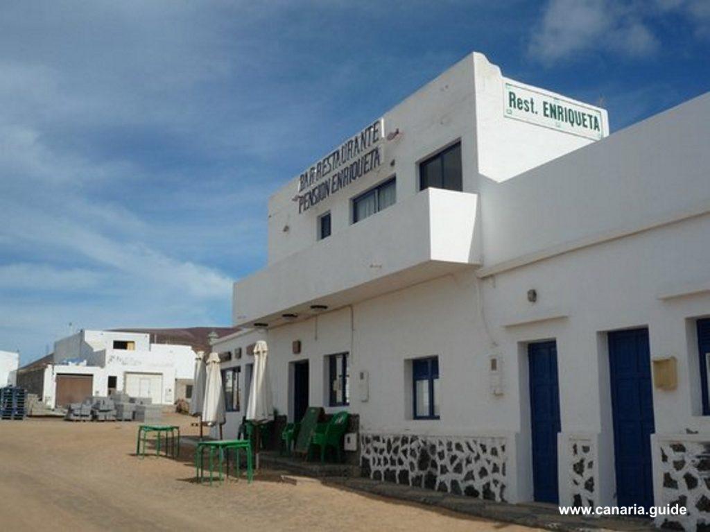 Penzión Enriqueta - jedna z možností ubytovania na La Graciosa