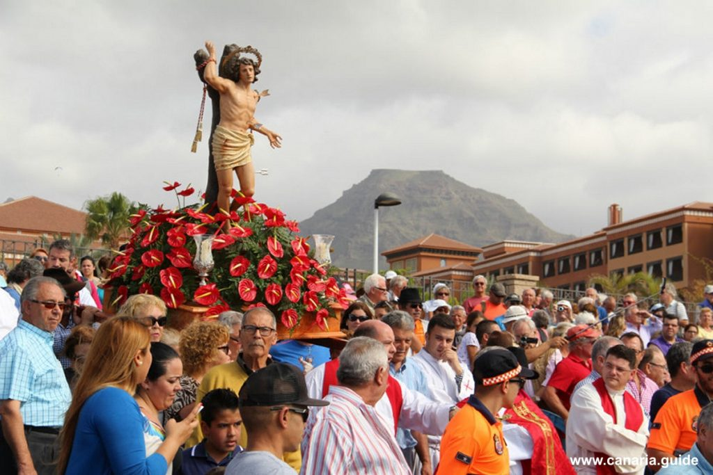 Fiesta San Sebastian, La Enramada, Tenerife