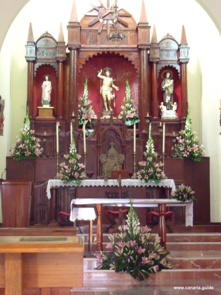 Iglesia San Sebastian, Adeje, Tenerife