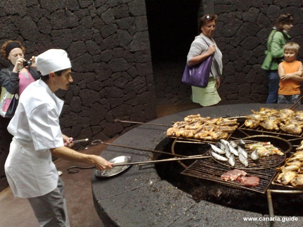Tenerife, El Diablo Restaurante