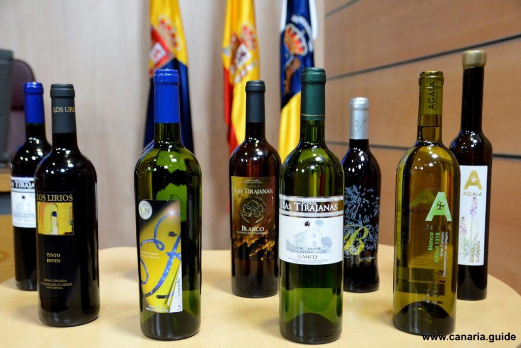 Gran Canaria, vína