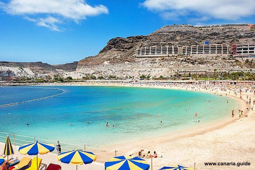 Gran Canaria, pláže s modrou vlajkou