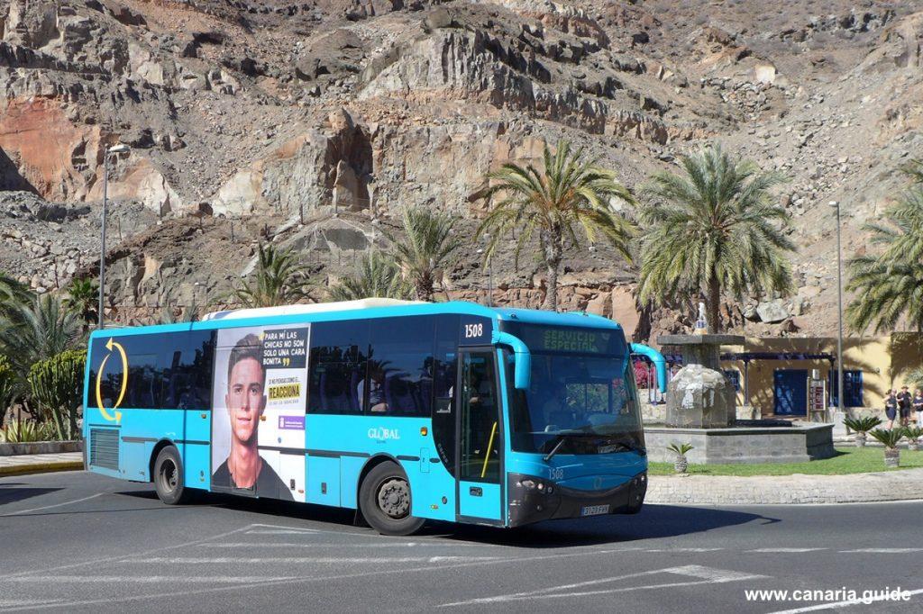Autobusy na Gran Canarii