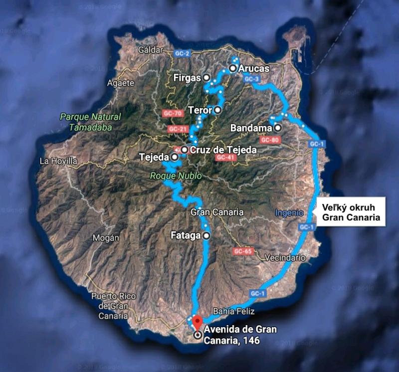 Veľký okruh Gran Canaria