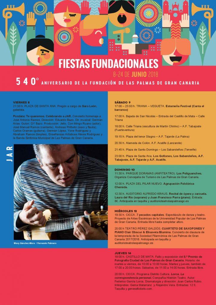 540 rokov Las Palmas - program