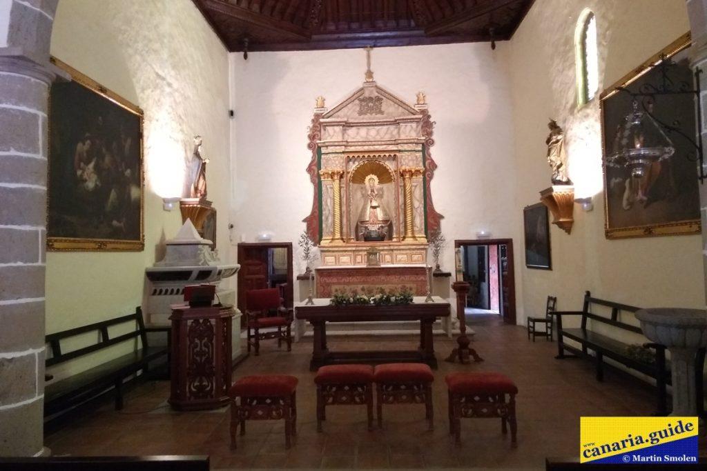 Finca Condal Vega Grande - kostol Nuestra Señora de Guadalupe - interiér