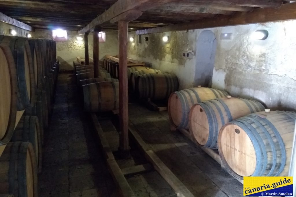Finca Condal Vega Grande - vínna pivnica