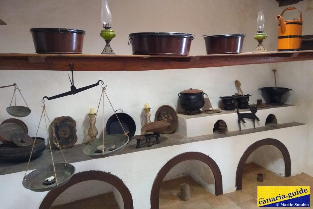 Finca Condal Vega Grande - pôvodná kuchyňa
