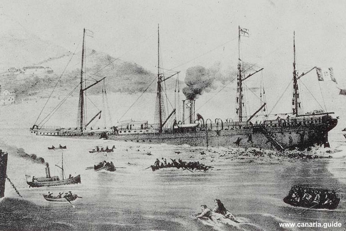 Sud America, 1872