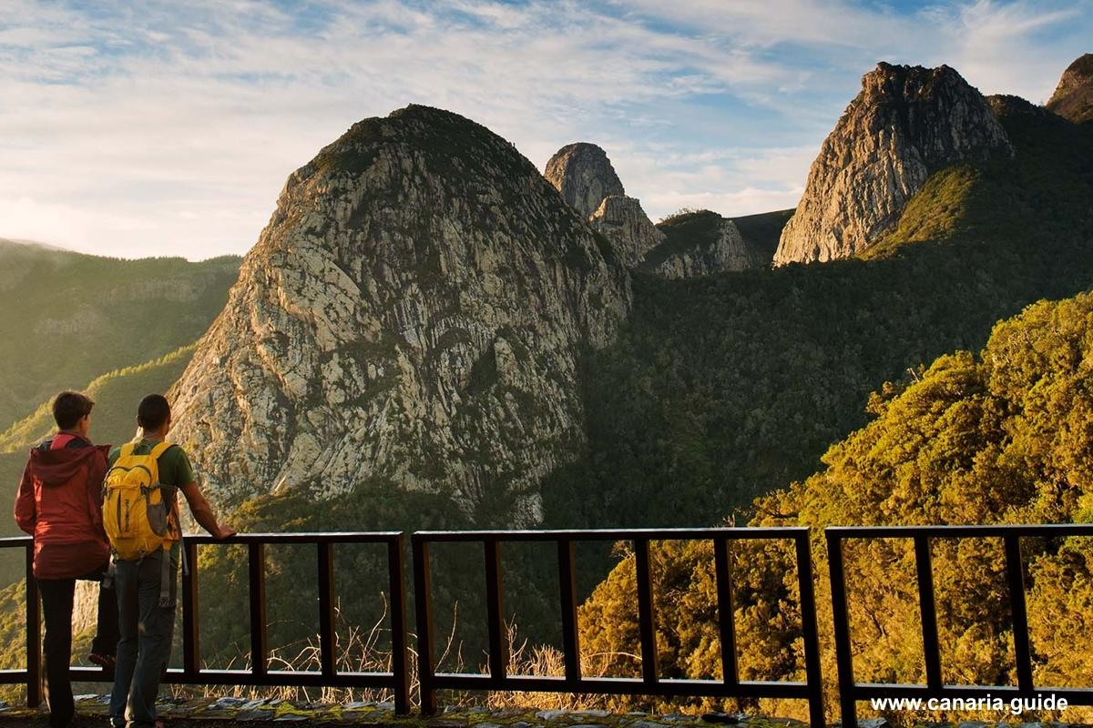 La Gomera, najkrajšie vyhliadky