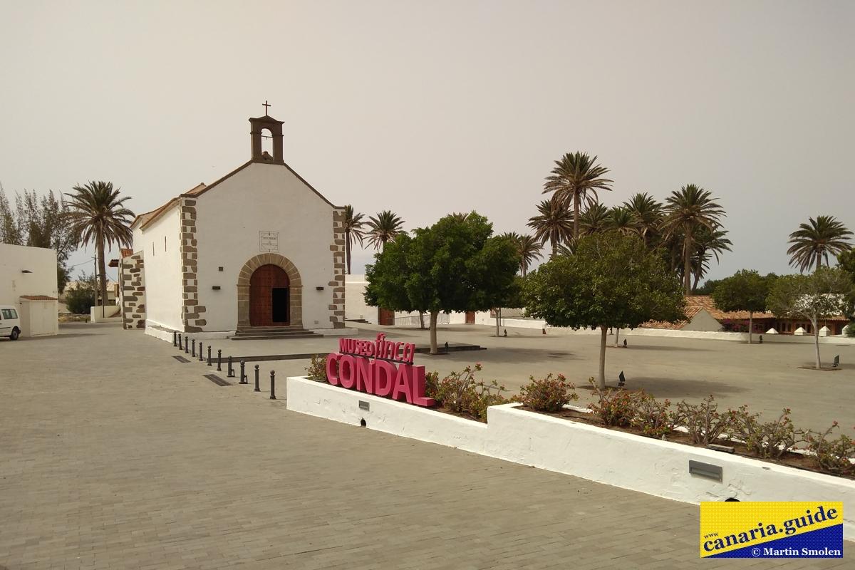 Finca Condal Vega Grande - kostol Nuestra Señora de Guadalupe
