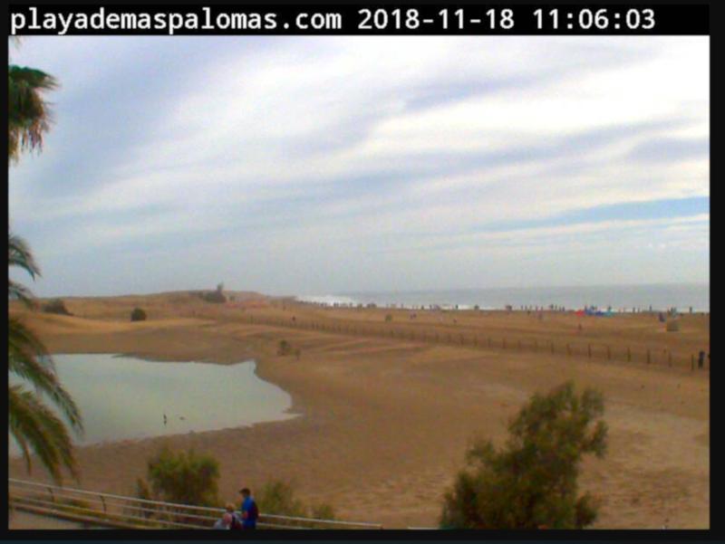 Web cam Playa de Maspalomas
