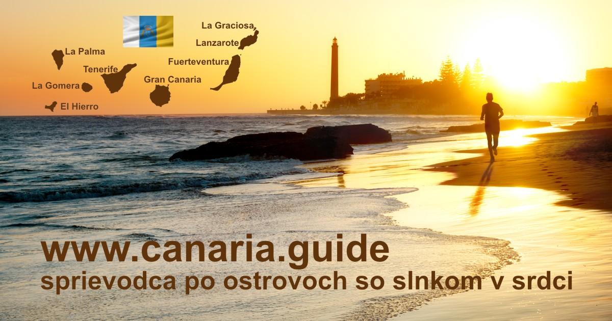 Sprievodca po Kanárskych ostrovoch - informácie, výlety, exkurzie, zájazdy, ...