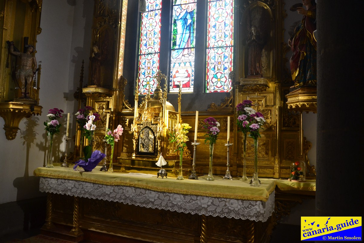 Arucas, Iglesia de San Juan Bautista - Capilla de Santisimo Sacramento