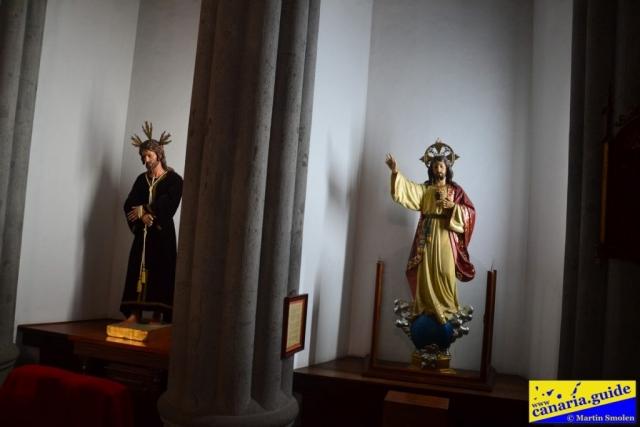 Arucas, Iglesia de San Juan Bautista - Capilla del Sagrado Corazón de Jésus