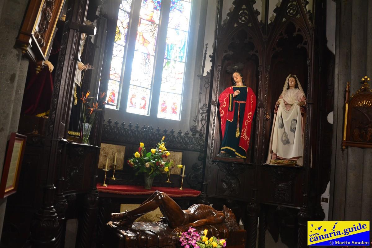 Arucas, Iglesia de San Juan Bautista - Capilla del Calvario