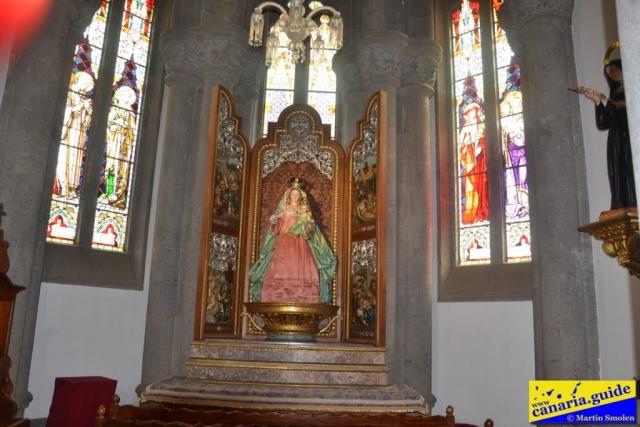 Arucas, Iglesia de San Juan Bautista - Capilla de la Virgen del Rosario