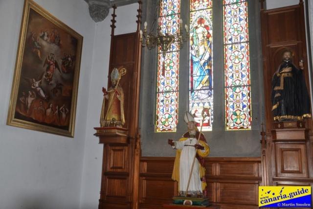Arucas, Iglesia de San Juan Bautista - Capilla a San Blas