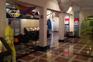 Aeropuerto César Manrique Lanzarote - letecké múzeum