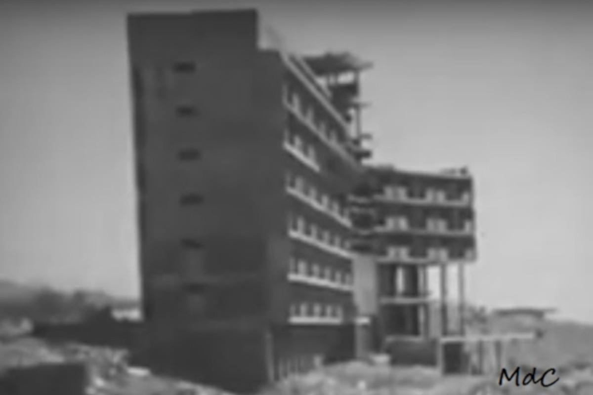 San Augustín, výstavba hotela Folias, 1964
