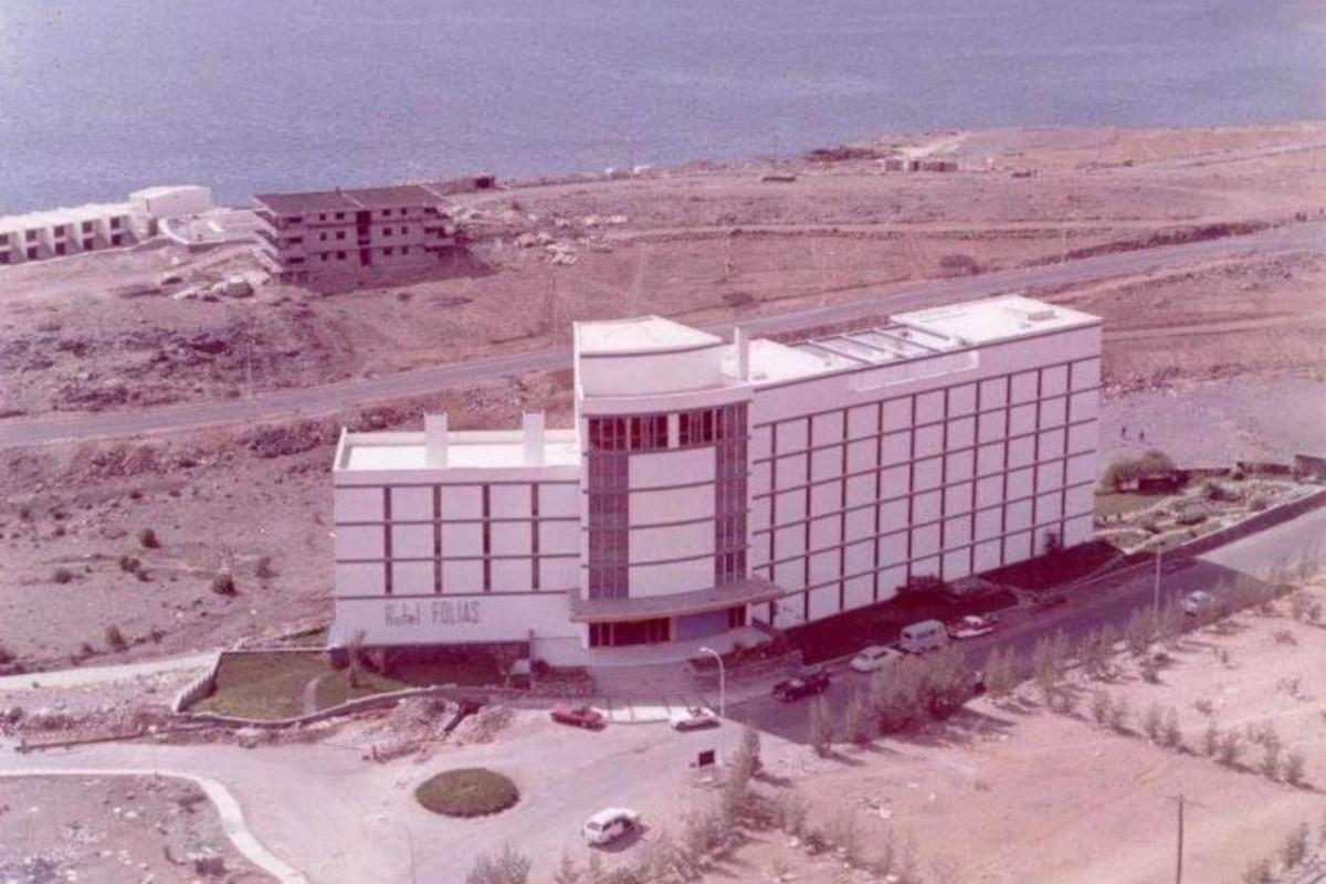 San Augustín, hotel Folias, 1965