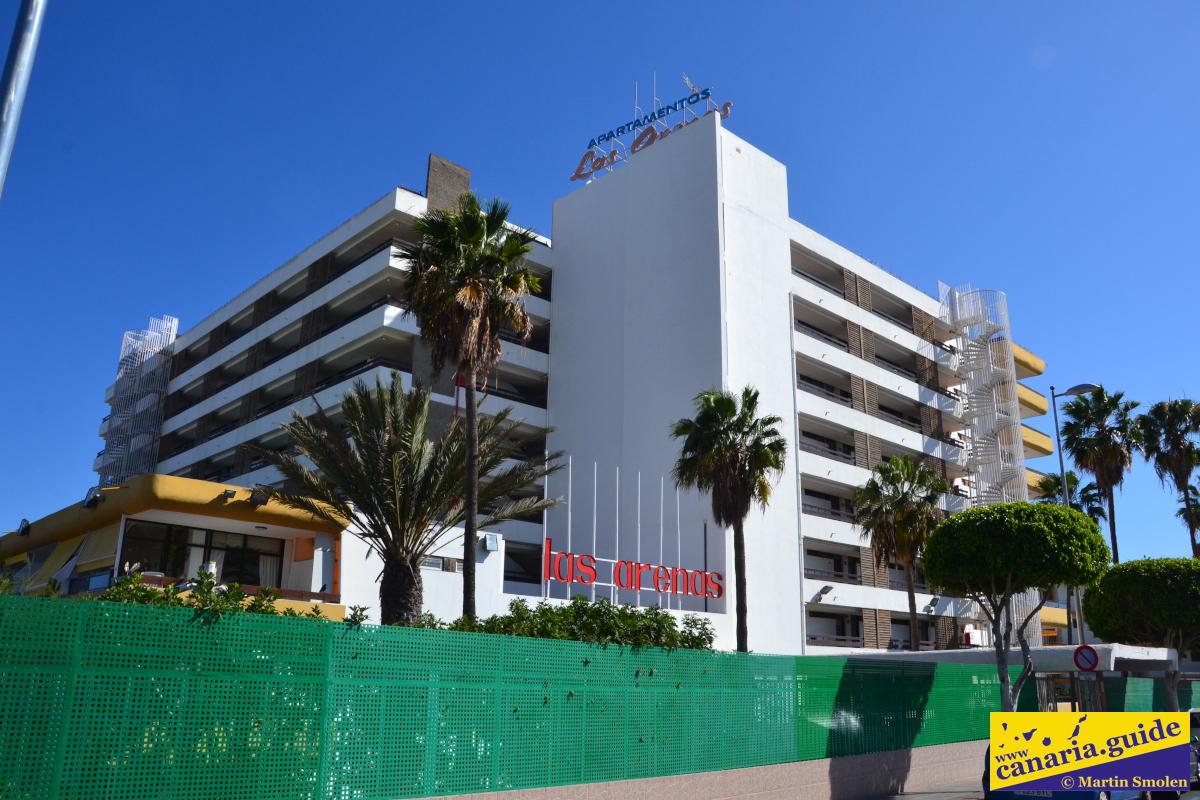 Playa del Inglés, hotel Las Arenas, 2019