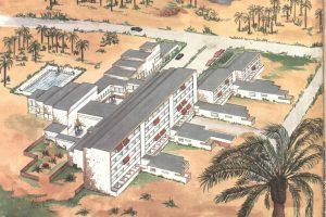 Hotel Maspalomas Oasis, pôvodný projekt