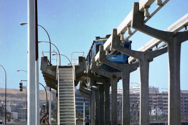 Tren Vertebrado TV-2 Las Palmas de Gran Canaria