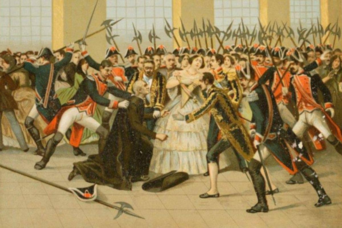 Atentát na španielsku kráľovnú Isabelu II.