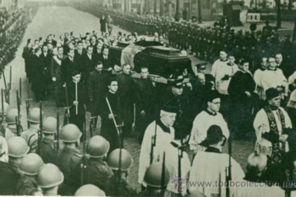 Pohrebný sprievod kráľa Alfonsa XIII.