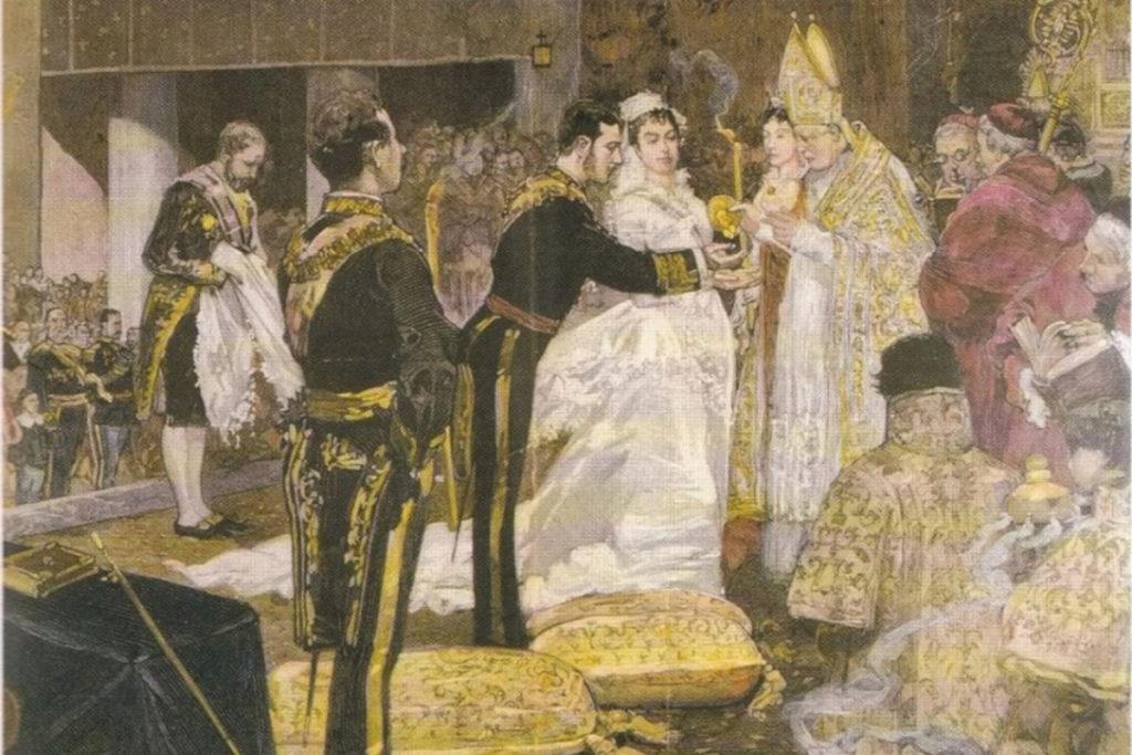 Svadba kráľa Alfonso XII. (23. januára 1878)