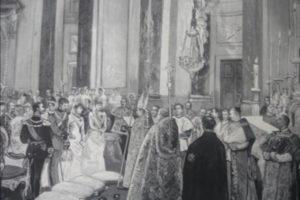 Svadba španielskej infantky Maria de la Paz de Borbón (2. apríla 1883)