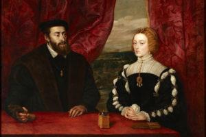 Kráľ Carlos I. s manželkou Alžbetou Portugalskou