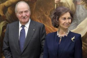 Emeritný kráľ Juan Carlos I. s manželkou Sofiou Gréckou