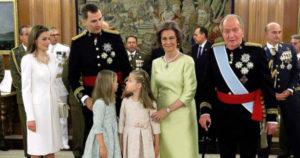 Španielska kráľovská rodina (2019)