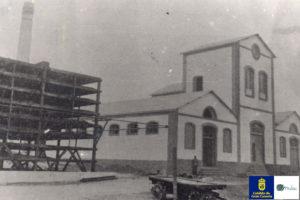 Fábrica de ron, Arucas, 1909