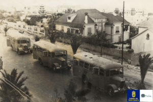 Autobusy 1955