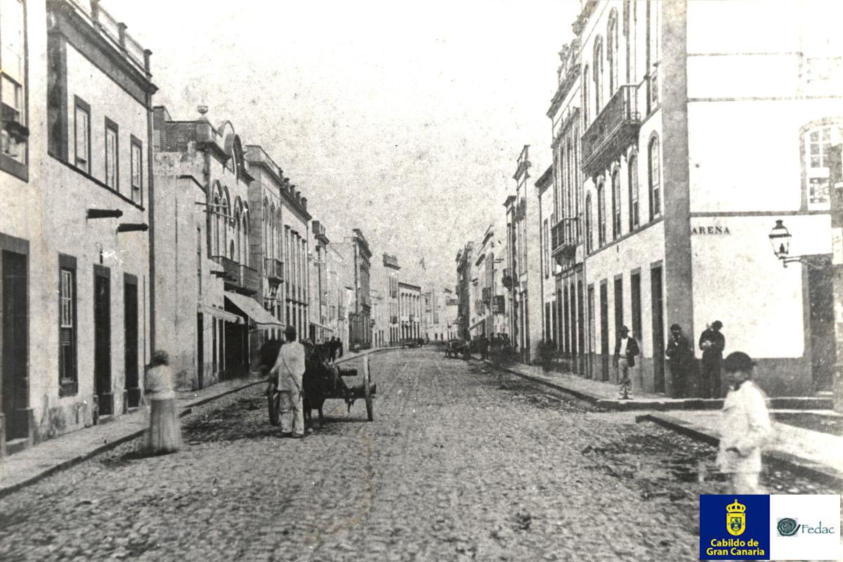Calle Triana, 1890
