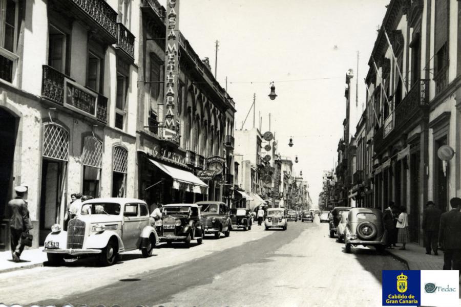 Calle Triana, 1955