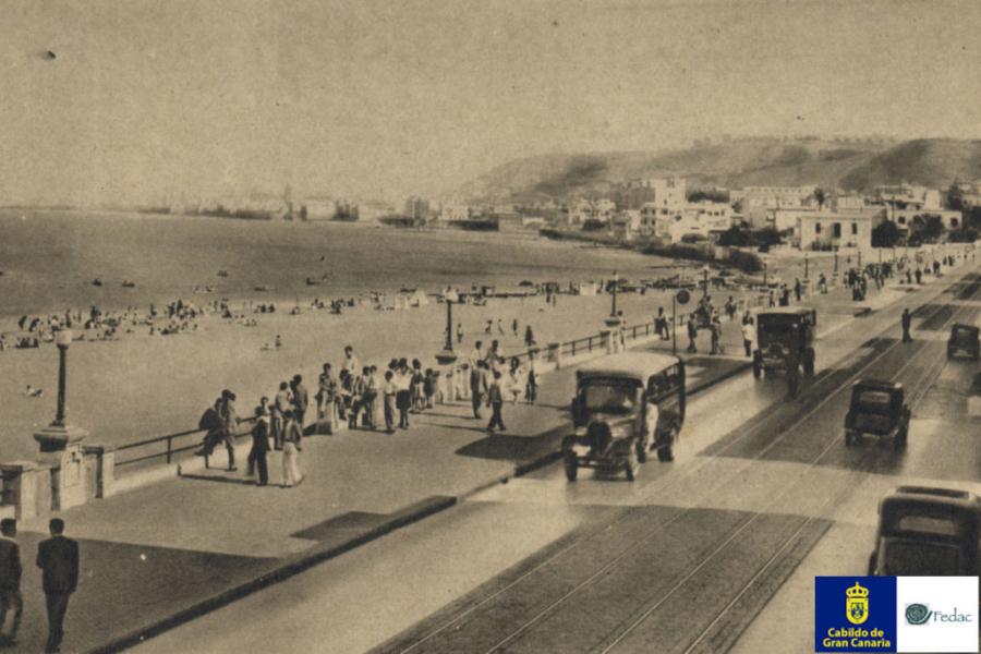 Playa las Alcaravaneras, 1932