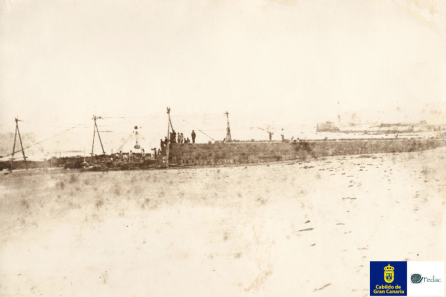 Muelle Santa Catalina, 1885