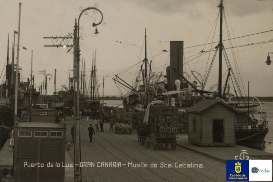 Muelle Santa Catalina, 1924