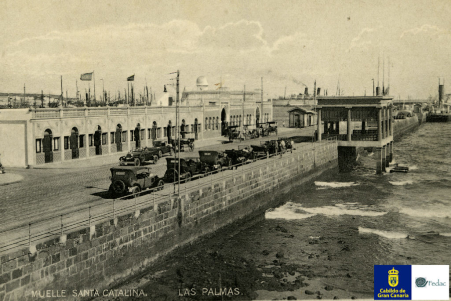 Muelle Santa Catalina, 1925