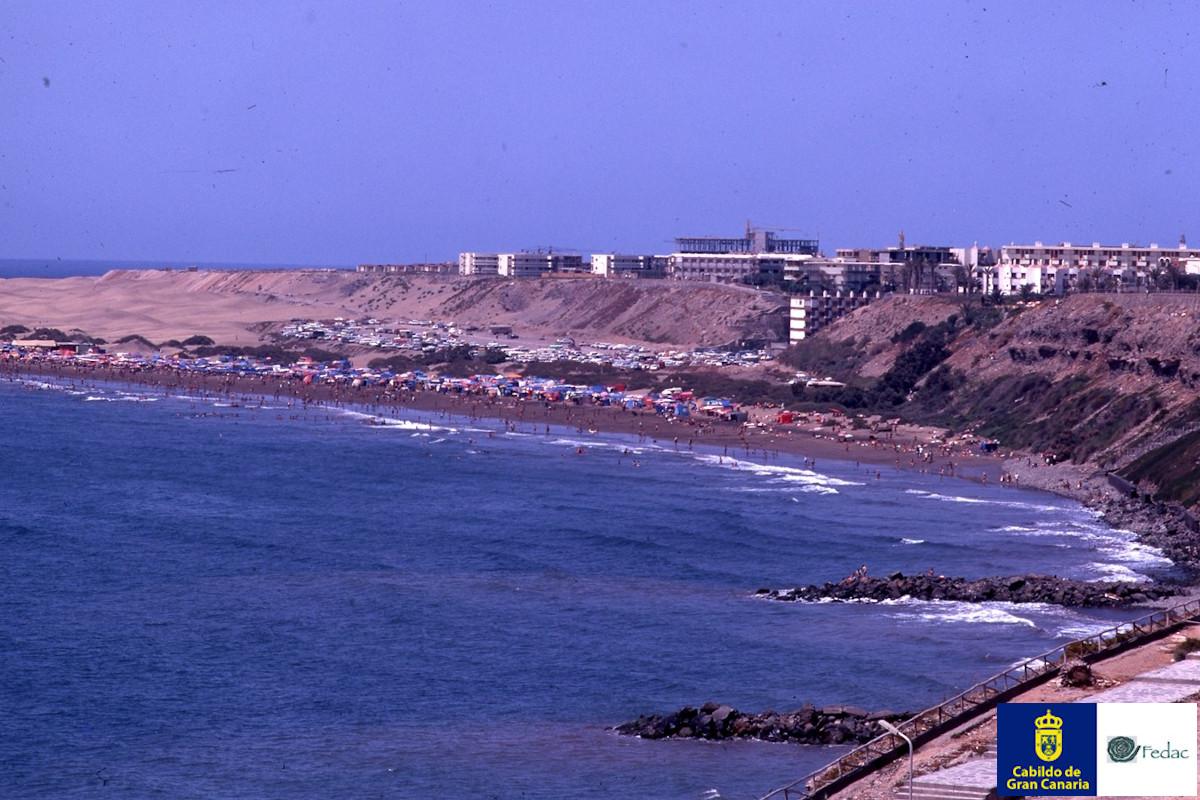 Playa del Inglés, 1968