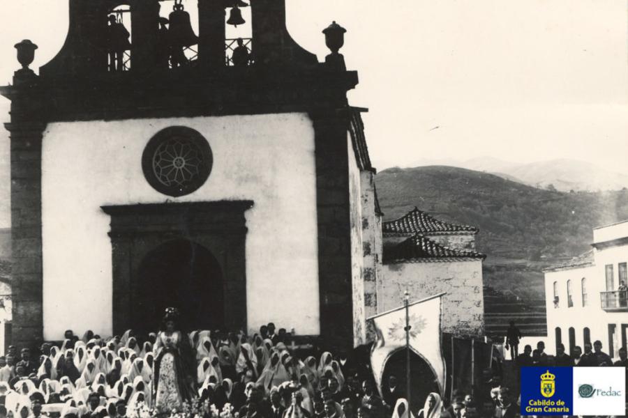 Vega de San Mateo, 1890
